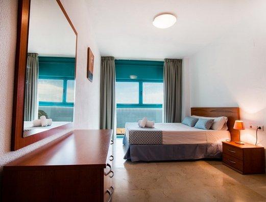 Спальня Отель Magic Atrium Beach